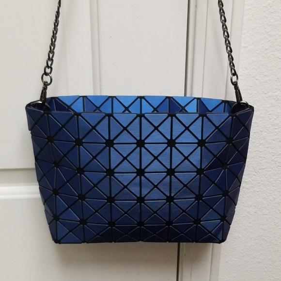 Issey Miyake Bags   Bao Bao Purse Blue Crossbody Bag   Poshmark d31378ab54